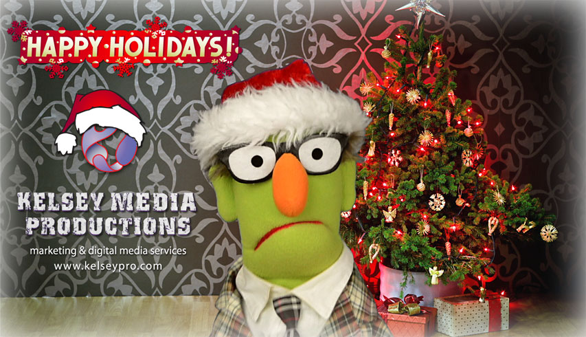Holiday Fun... Introducing Kelsey Media Productions NEW Website!